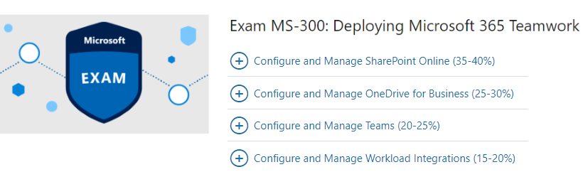 Study Guide – MS-300 Deploying Microsoft 365 Teamwork – Rene